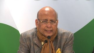 AICC Press Briefing By Abhishek Singhvi at Congress HQ on the Unprovoked Attacks on J&K students