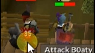 Fighting B0aty in DMM tournament (Little did he know I had a dragon warhammer)
