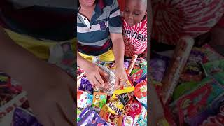 New SOME LOT'S OF CANDIES more chocolate mouth watering video ASMR MUKBANG 12 #shorts #tiktok candy