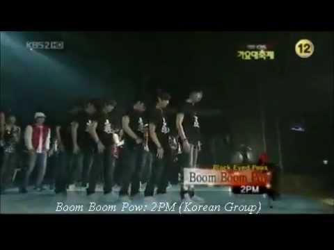 Boom Boom Pow (2PM) Korean Group