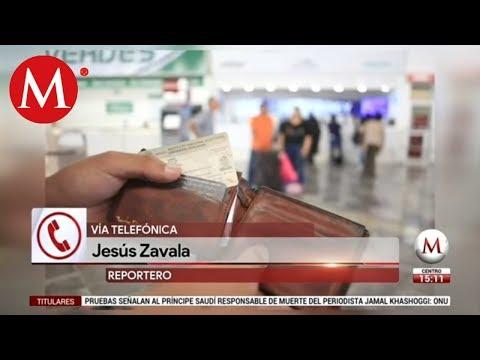 Líneas de autobús implementan medidas migratorias de AMLO