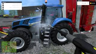 Zagrajmy w Farming Simulator 2015 na (single)multiplayer - Między nagraniami 2/2 (timelapse)