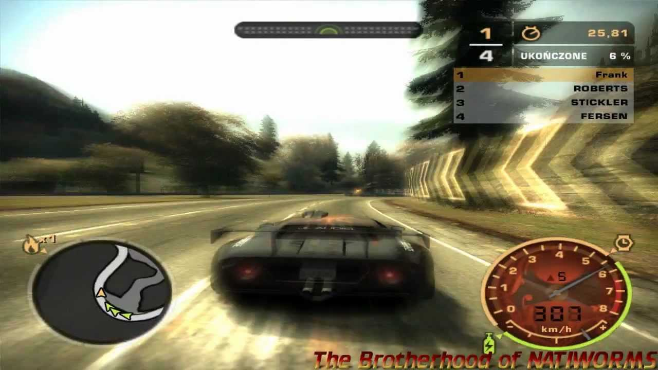 Pc Usb Gamepad Test Need For Speed Most Wanted 720p Youtube