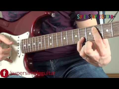 Lost Frequencies Style - Are You With Me guitar lesson tutorial how to play