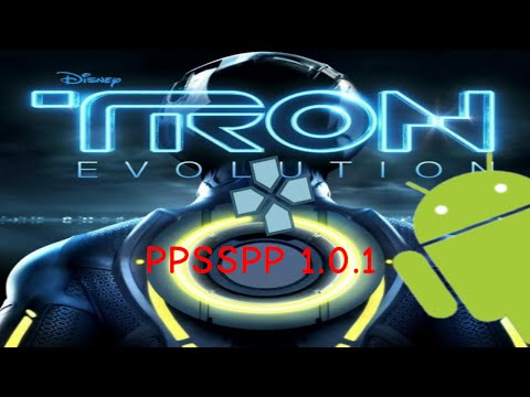 TRON Evolution PPSSPP 1.0.1