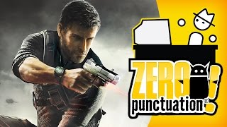 SPLINTER CELL: CONVICTION (Zero Punctuation) (Video Game Video Review)