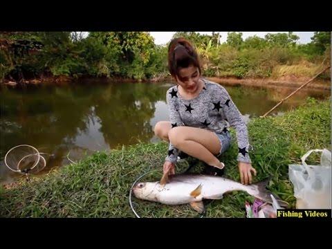 Fishing videos amazing beautiful girl fishing fishing in for Big 5 fishing