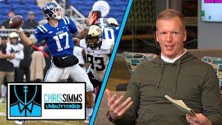 Phil Simms ranks 2019 NFL Draft QBs | Chris Simms Unbuttoned | NBC Sports