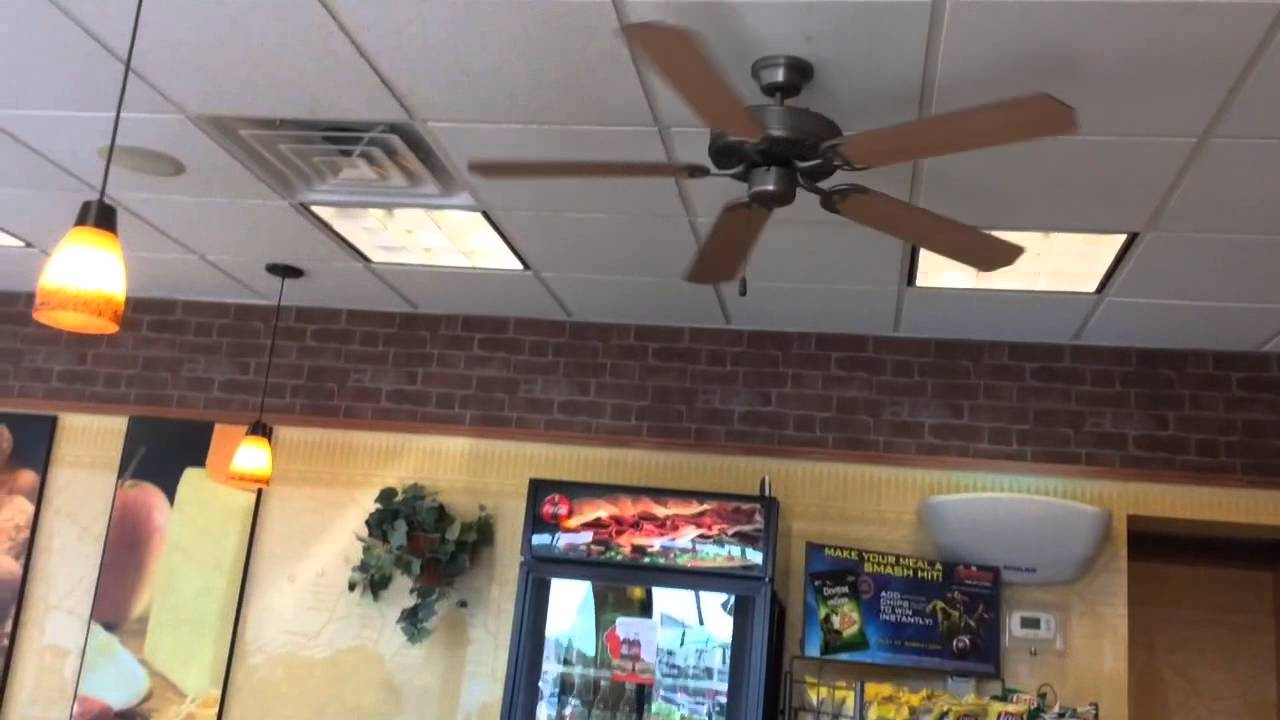 Warped 52 Quarom Capris Ceiling Fans A Subway Revisited