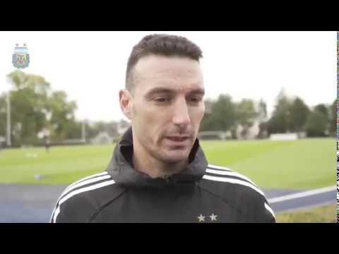 #SelecciónMayor: Lionel Scaloni habló acerca de la gira albiceleste