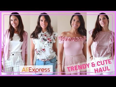 c58d9884bc17 ALIEXPESS HAUL // TRENDY SPRING SUMMER CLOTHING - MONICASMODA