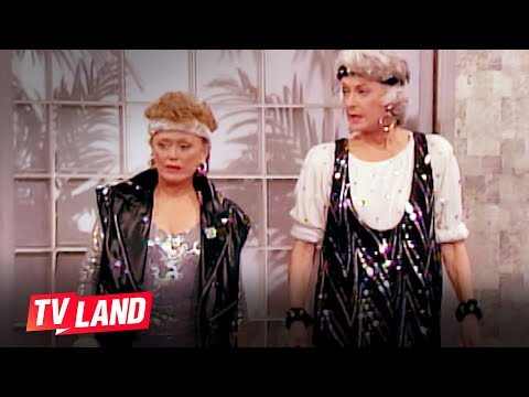 9 Ways To Stay Motivated w/ The Golden Girls | TV Land