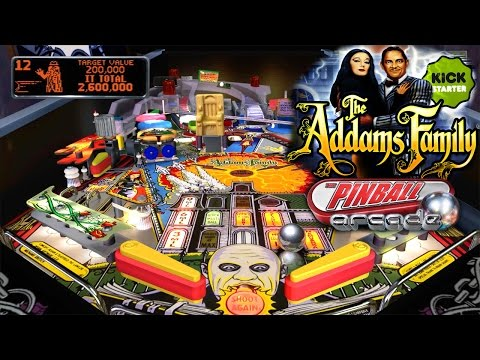 Let's Play The Addams Family, Pinball Arcade - 1080 HD Game-Play