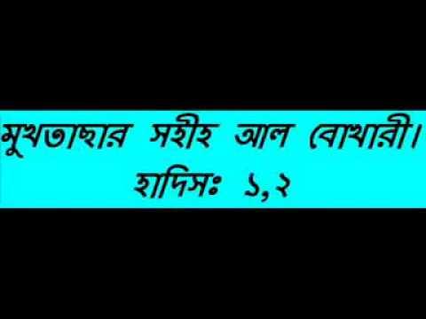 Bangla || Selected Hadith of Sahih Al Bukhari || Motiur Rahman || Part 1/40