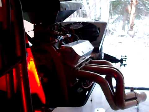 custom dragster (patrick ouellet) start engine #1