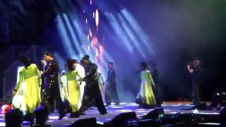 shahrukh and rani khnh and mohabbatein in temptation reloaded sydney october 2013
