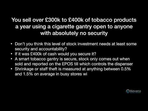 Why Navarra Smart tobacco Gantries Make good Business Sense
