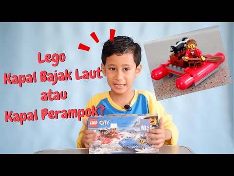 MAINAN LEGO KAPAL APA YA..? PART #1 (English Subtitle)