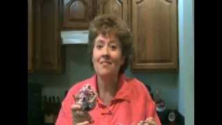Banana Blueberry Cheesecake Ice Cream - Jazzy Gourmet Cooking Studio