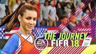 Fifa 18 - the journey - minha irmÃ É jogadora  | ep.11
