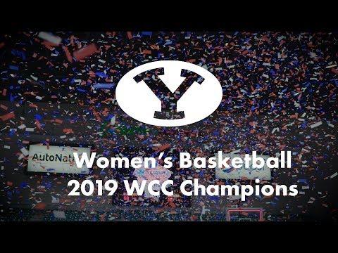 BYU Women's Basketball - BYU Vs Gonzaga - WCC Championship March 12, 2019