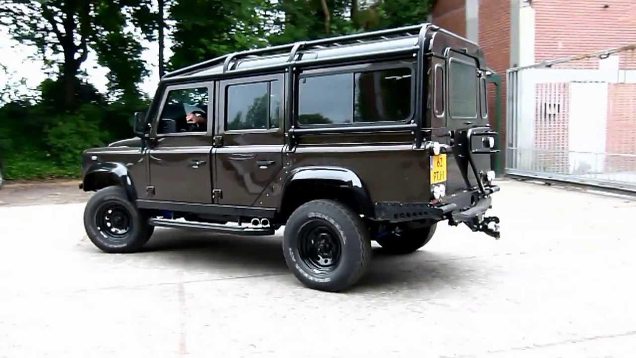 Land Rover Defender 110 Met 6 5 Chevrolet V8 Diesel