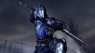 Skyrim mod: Блистательная (священная) броня и оружие