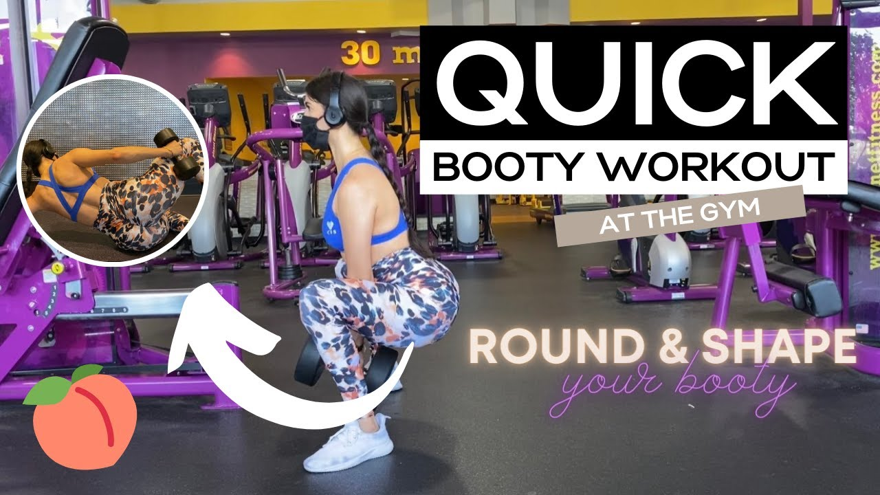 SHAPE AND ROUND YOUR GLUTES/ FULL WORKOUT