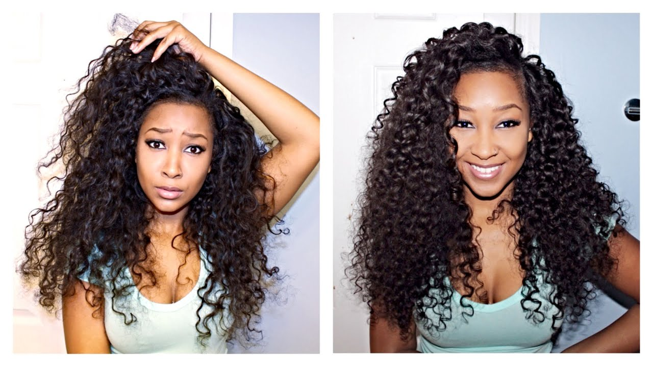 Defining your Curly Hair Extensions