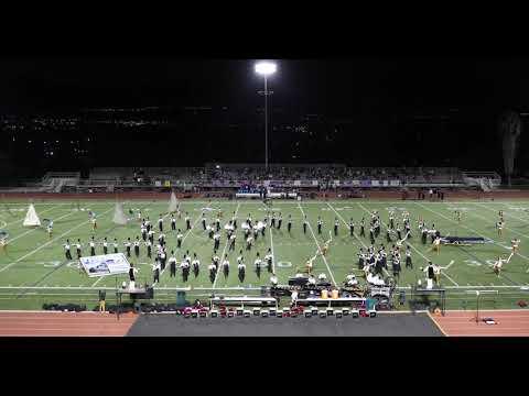 Golden Valley High School Marching Band Oct 12 2018 (4K)