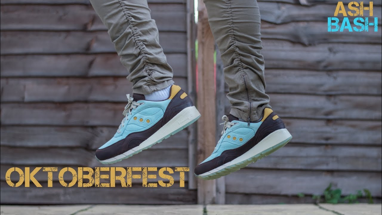 Review + On Foot | Saucony Shadow 6000 ' Oktoberfest' | Ash Bash