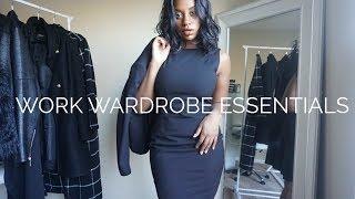Business Professional Wardrobe Essentials | Kameron Monet