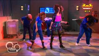 Shake It Up Baile en el hospital, Castellano