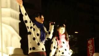 説明 2014.2.8(土) 札幌雪祭り 大通り7丁目HBCマレーシア広場.