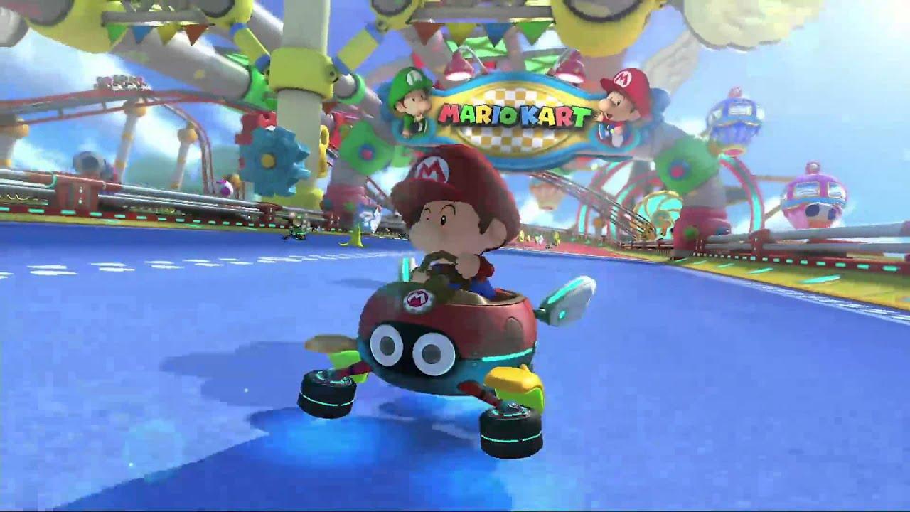 Baby Mario Mario Kart 8: (GCN) BABY PARK