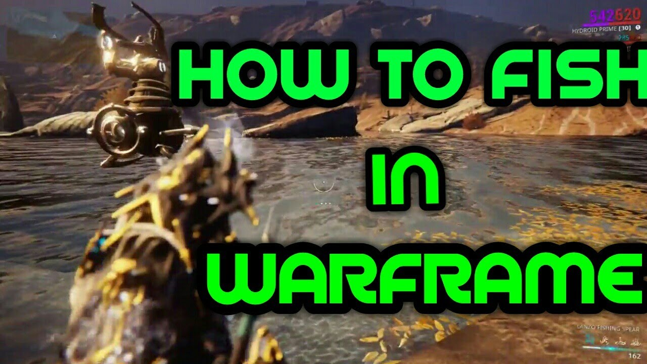 How and Where to Fish in Warframe | Warframe Plains of Eidolon Beginner's Guide