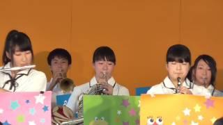 第54回戸出七夕まつり・高岡南高校吹奏楽部2017