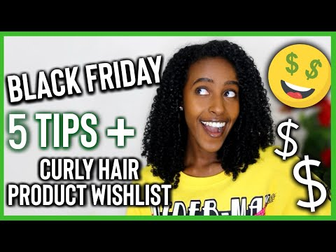 My Black Friday Curly Hair Product Wishlist + TOP 5 TIPS FOR BLACK FRIDAY 💸 | Lydia Tefera Mp3