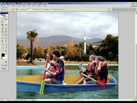 Photoshop CS2 - Phan 20 - Bai 5 - Tuyet chieu photoshop 3