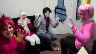 Adventure Time Christmas CMV-BLOOPERS and EXTRAS