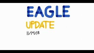 Video announcements 11/14/18