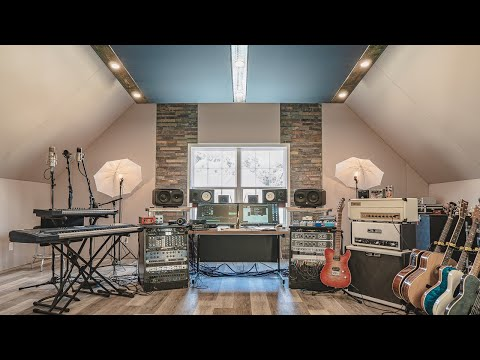EPIC Home Studio Build (studio Tour)