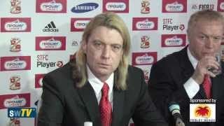 Swindon Town FC New Owners Press Conference (25 February 2013)