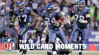 Top 10 Wild Card Moments of All Time | NFL Highlights