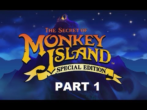 PIRATE WANNABE | The Secret Of Monkey Island: Special Edition | Part 1