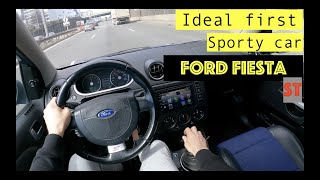 Ford Fiesta ST 2005 MK6 2.0 16V 150hp | POV TEST Drive | 0-100 Acceleration by #GearUp