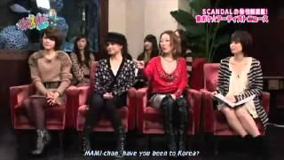 Gambar cover SCANDAL's Haruna is a K-Pop lover