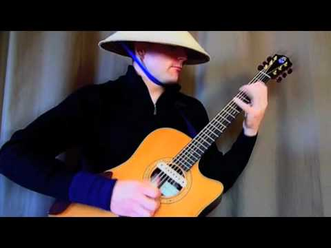 Trance song played on acoustic guitar