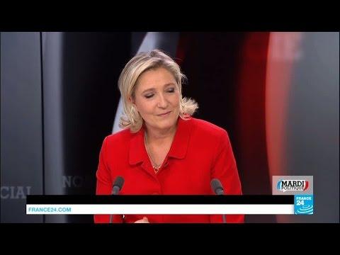 """Marine Le Pen : """"Les réfugiés, on les renvoie chez eux"""""""
