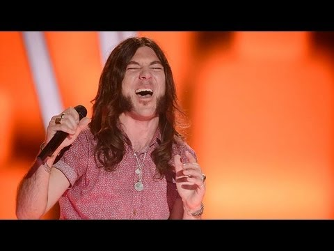 Simon Meli Sings Ramble On: The Voice Australia Season 2